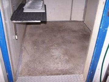 Cool room: Insulation - Polyurethane Protective Coatings - Rhino Linings Newcastle