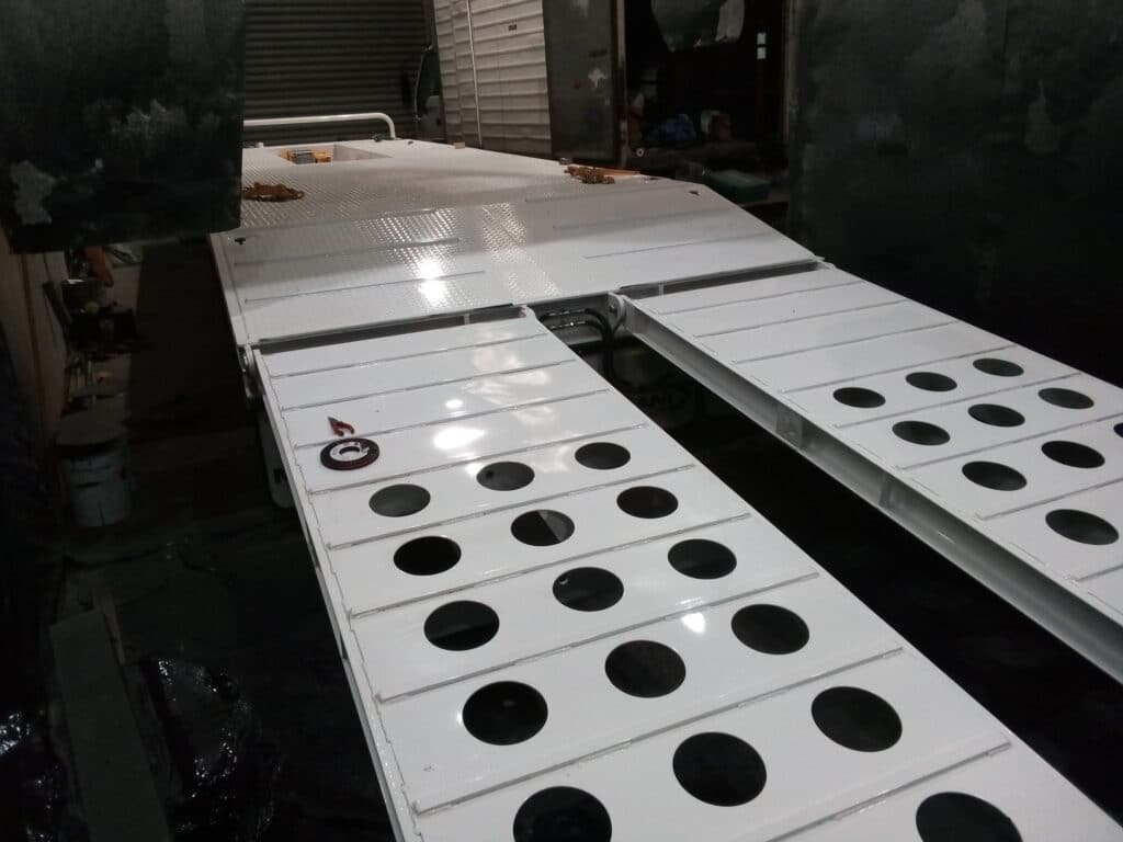 Protection for Trailers - Polyurethane Protective Coatings - Rhino Linings Newcastle