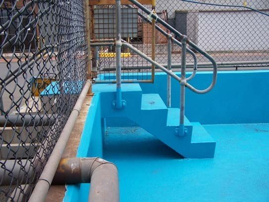 Water and Waste Water Protective Coatings - Hydrochloric Acid: Chemical Resistant - Polyurethane Protective Coatings - Rhino Linings Newcastle