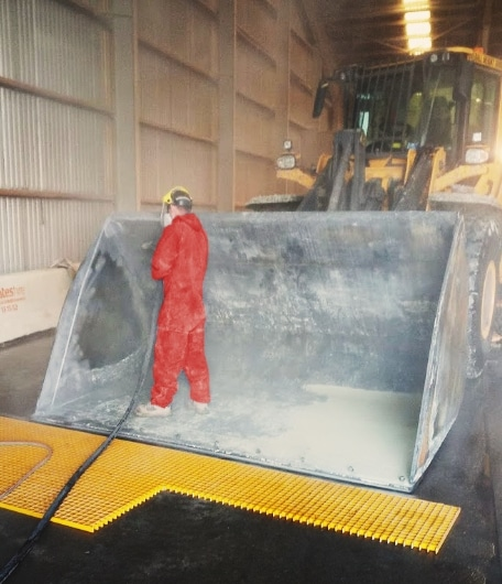 Earthmoving Machinery Protective Coatings - Rhino Linings Newcastle