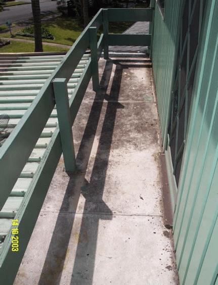 Balcony Floor: Water Proof - Polyurethane Protective Coatings - Rhino Linings Newcastle